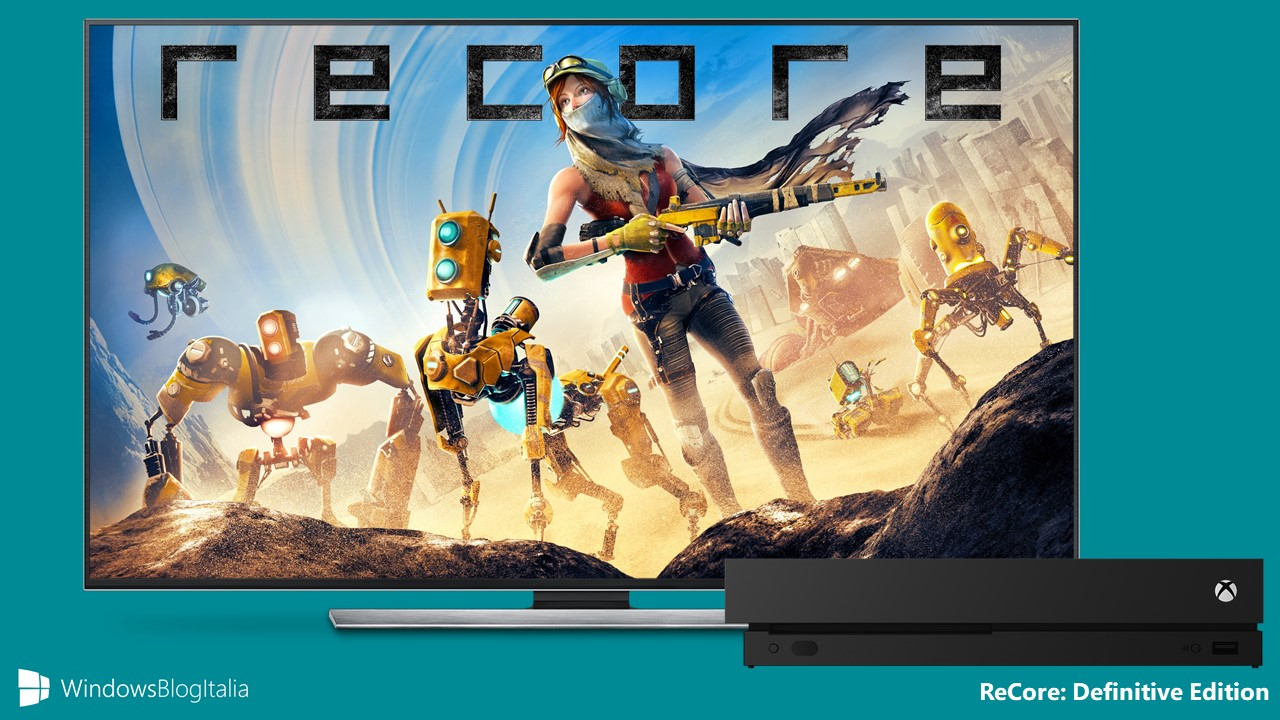 Download ReCore: Definitive Edition per Xbox One e Windows 10