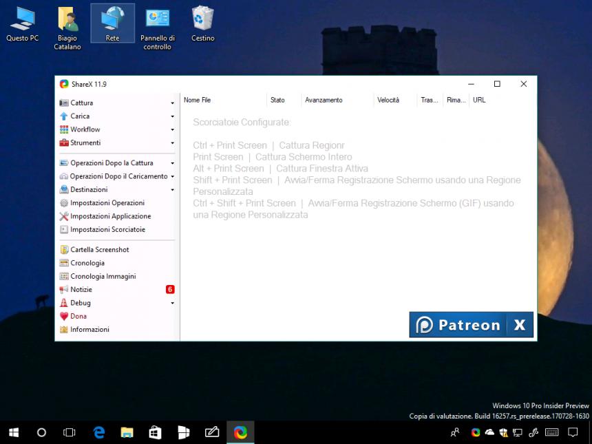 Download ShareX, l'app per fare e modificare screenshot su