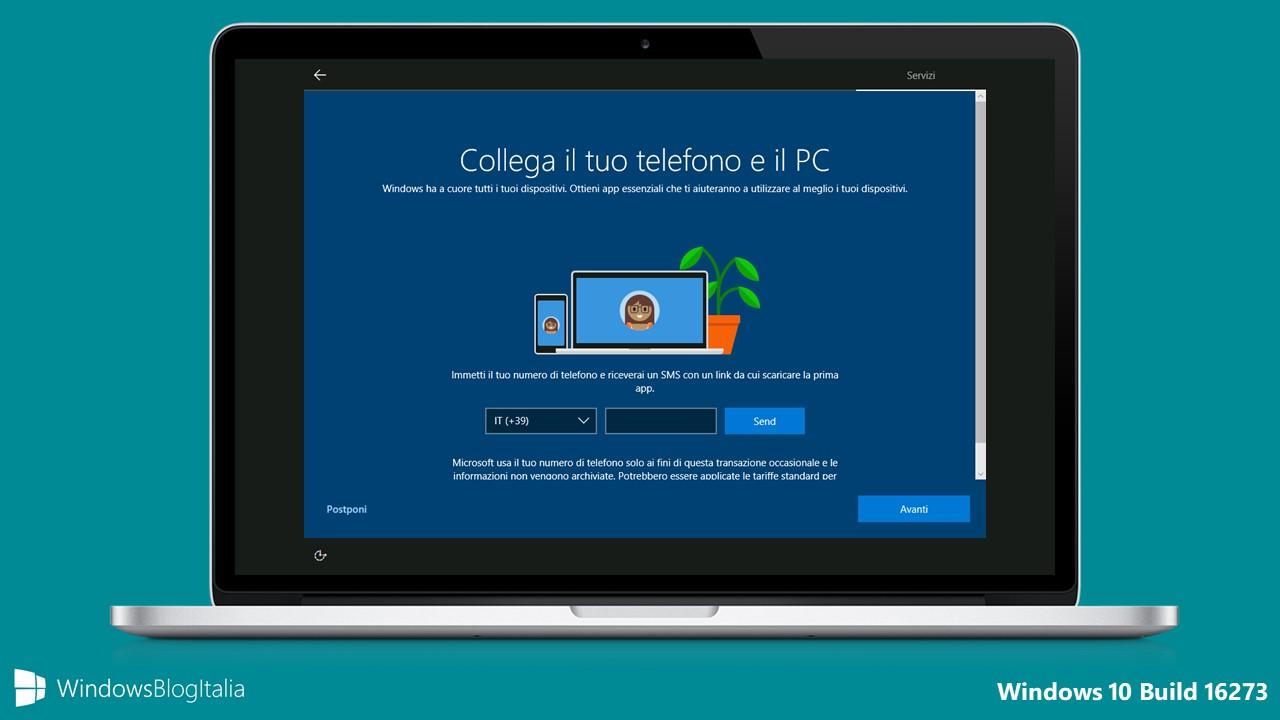 Tour completo di Windows 10 Insider Preview Build 16273
