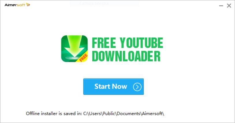 Free YouTube Downloader installazione