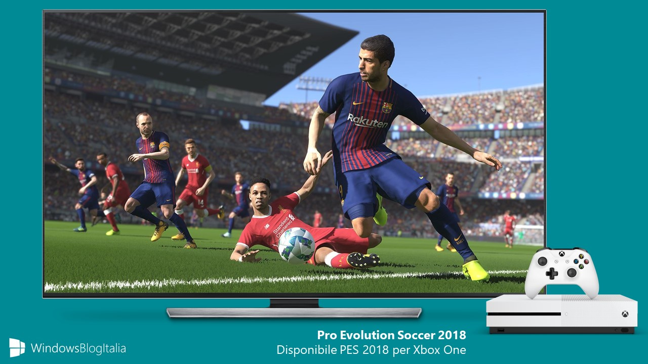 Download Pro Evolution Soccer 2018 PES 2018 Xbox One