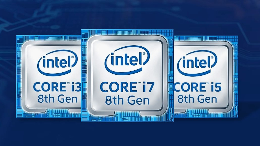 Intel Core i3 i5 i7 ottava generazione