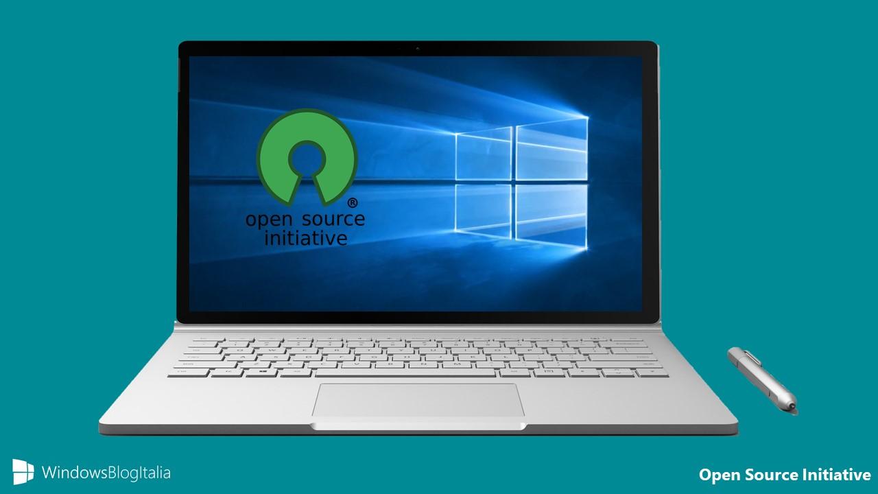 Open Source Initiative Microsoft