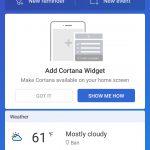Cortana per Android suggerimenti migliorati
