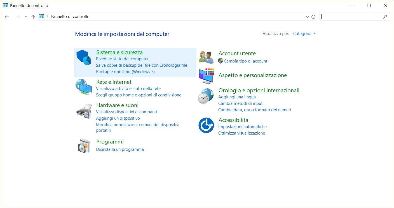 Tasto di accensione Windows 10