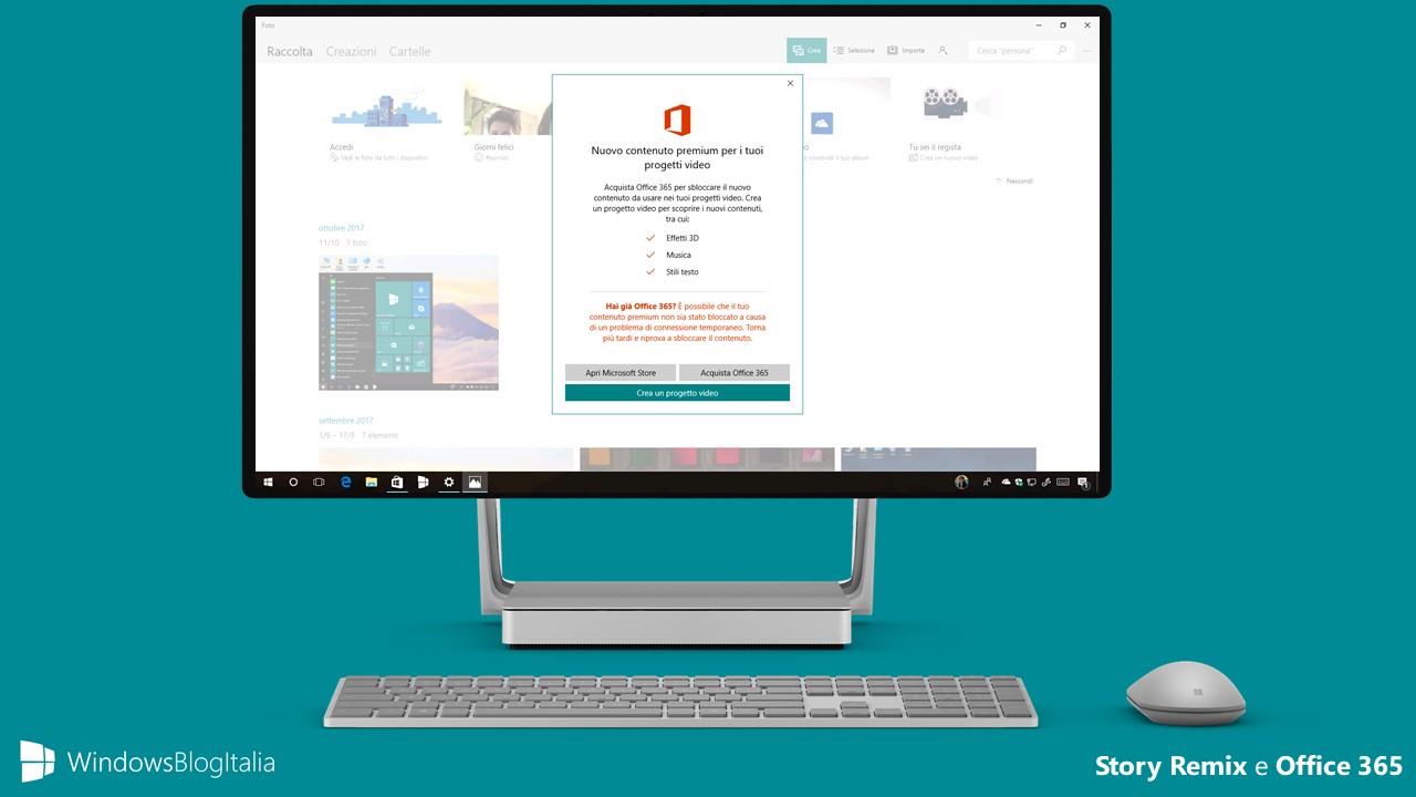Effetti 3D Story Remix - Office 365