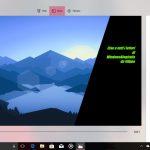 Story Remix Windows 10 Fall Creators Update editor posizione testo