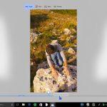 Story Remix Windows 10 Fall Creators Update interfaccia Taglia