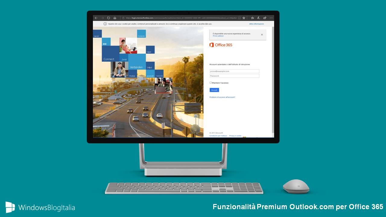 Funzionalità e-mail premium Outlook.com