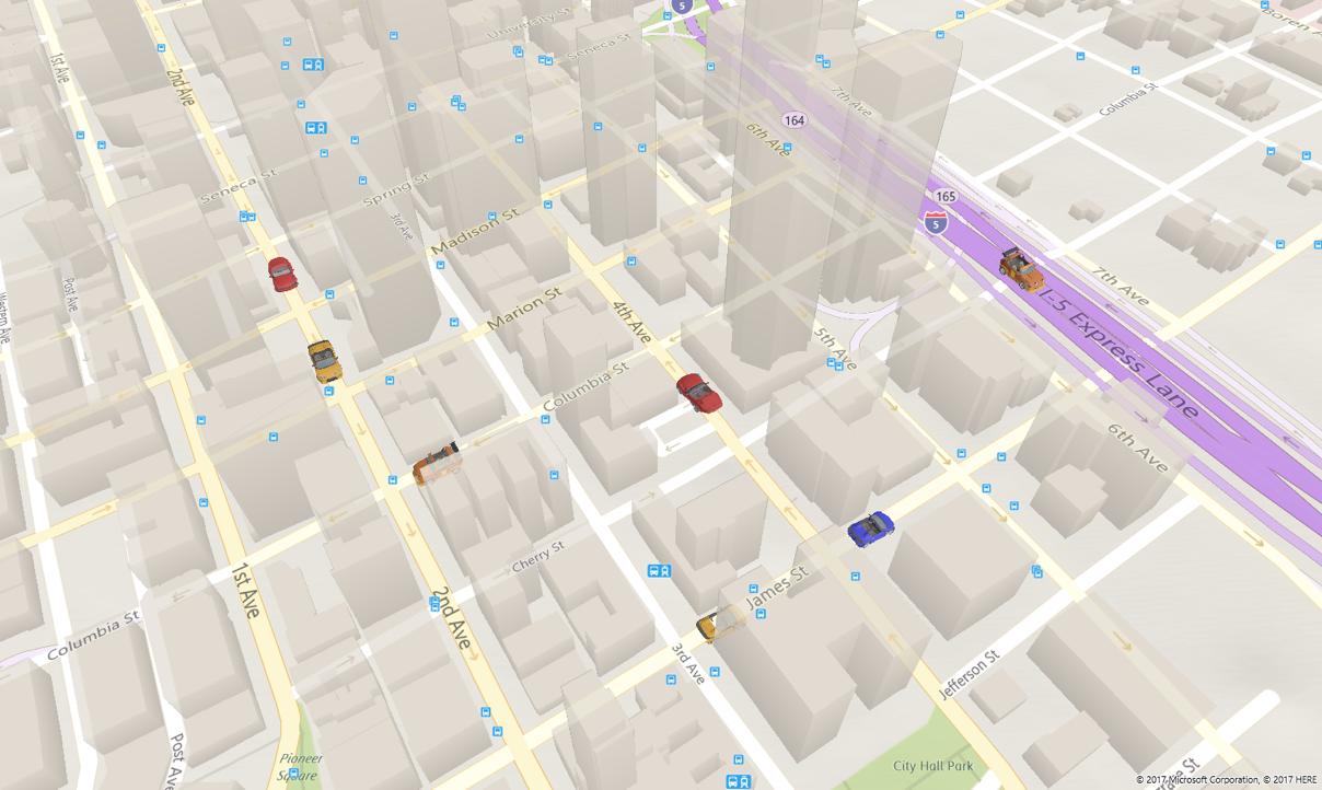 FCU mappe 3d oggetti auto
