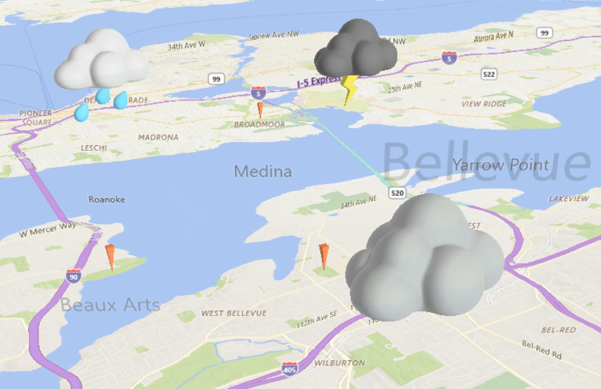 nuvole clouds FCU mappe