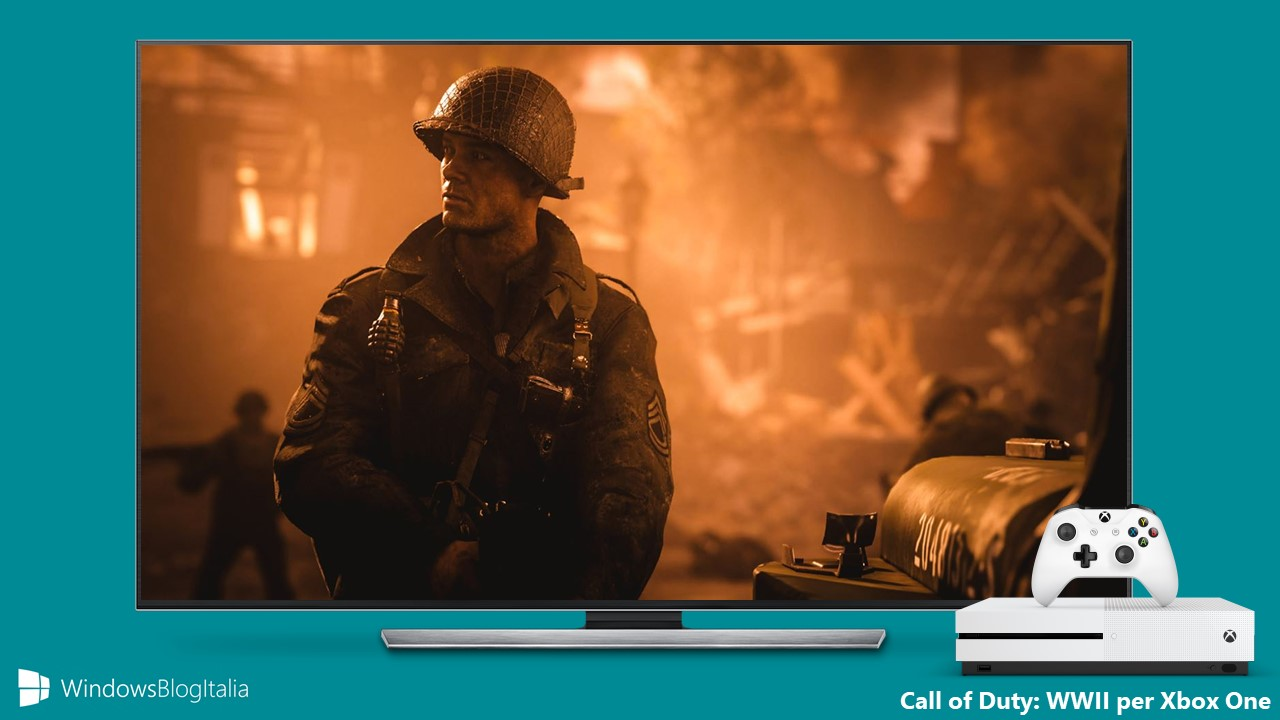 Download Call of Duty WWII Xbox One