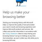 Microsoft Edge per Android sincronizzazione password 2