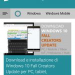 Microsoft Edge per Android tema scuro 2