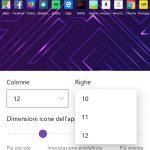 Microsoft Launcher Android 4.3 griglia app