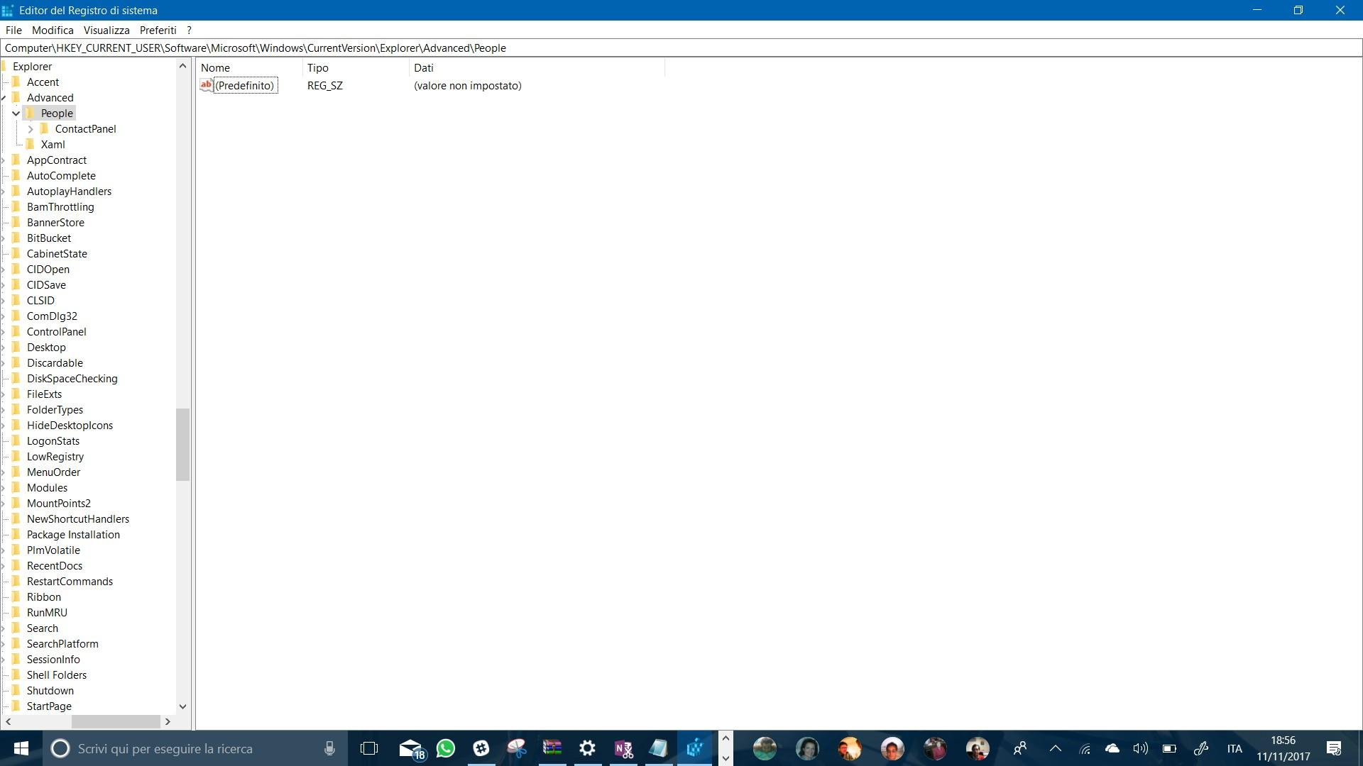 Registro Sistema Windows