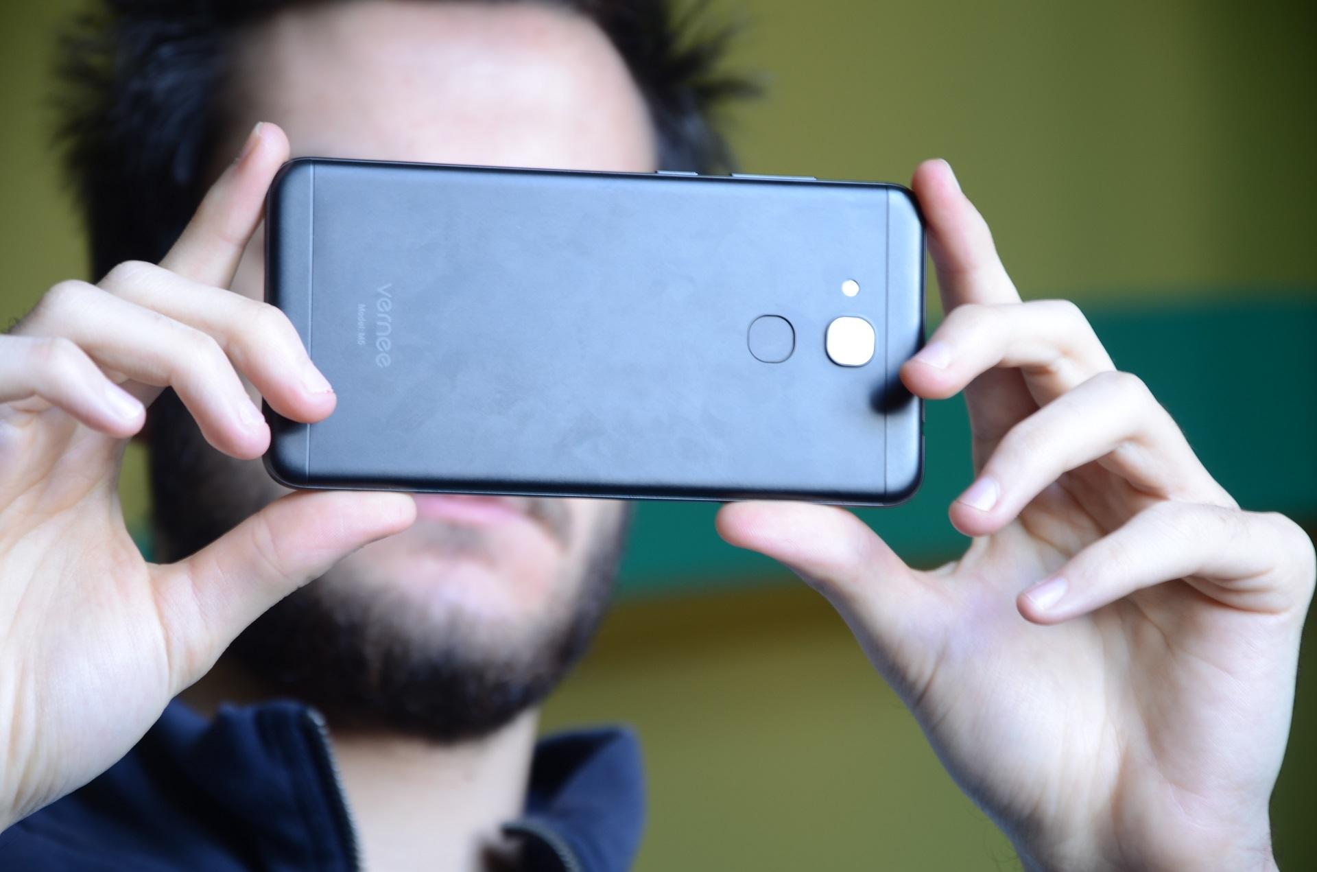Vernee M5 fotocamera