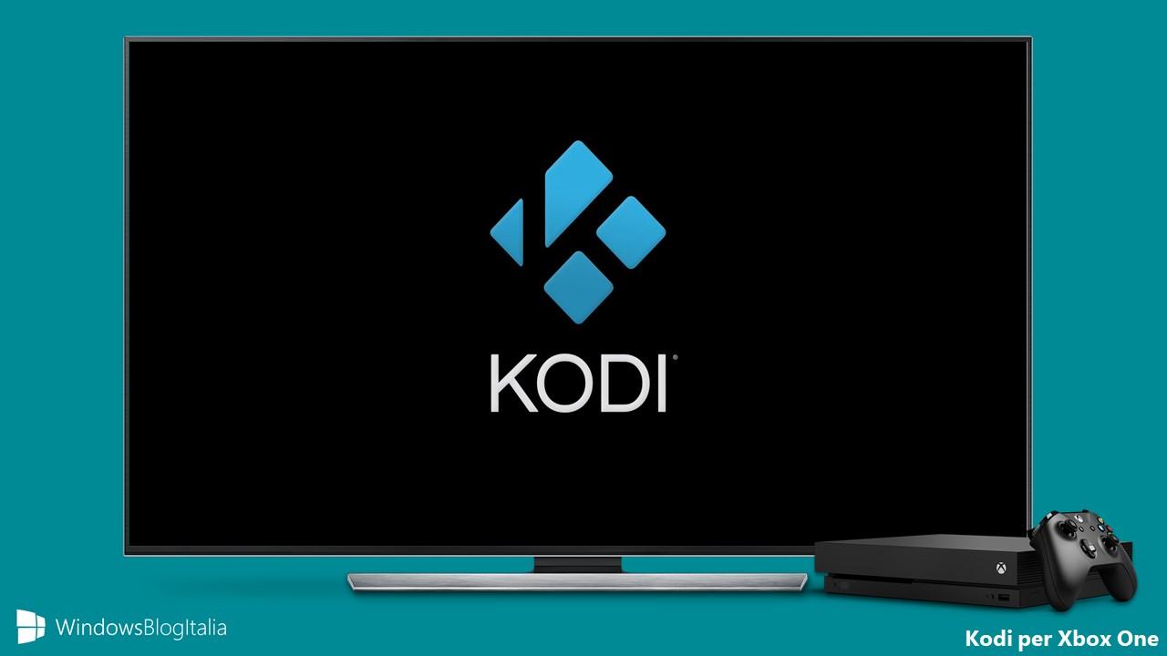 Kodi app Xbox One