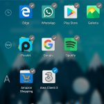 Microsoft Launcher Android 4.4 crea cartella app drawer