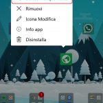 Microsoft Launcher Android 4.4 selezione multipla app