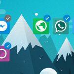 Microsoft Launcher Android 4.4 selezione multipla app home screen