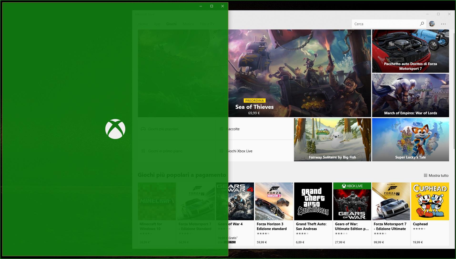 TruePlay Xbox Microsoft Store
