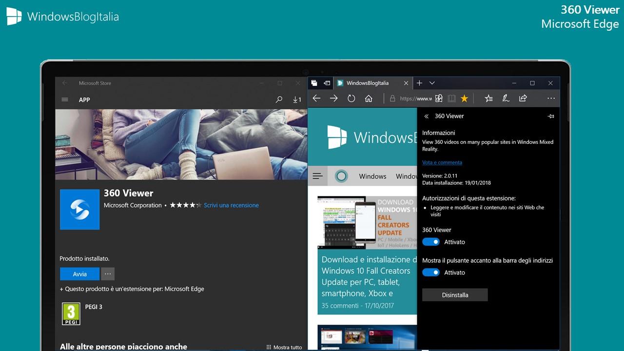 Estensione di Microsoft Edge