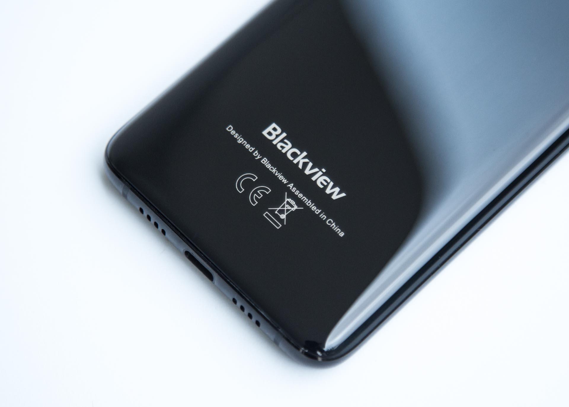 Back Blackview S8
