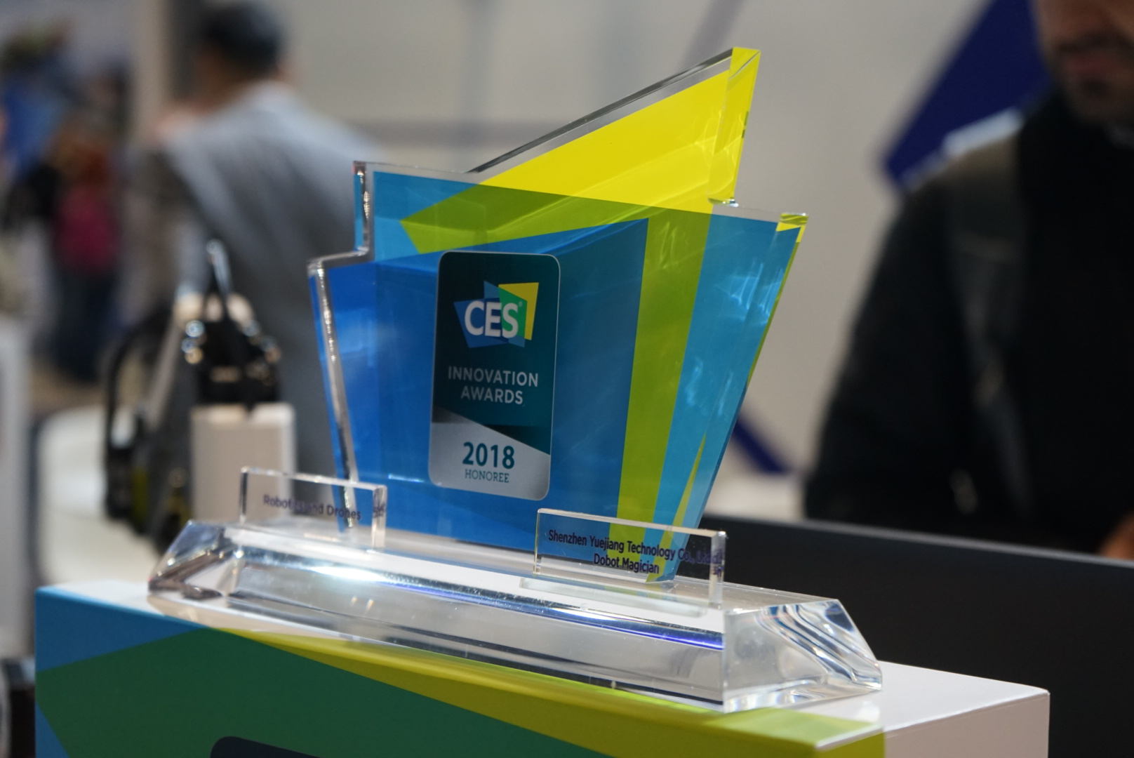 DOBOT CES 2018 award