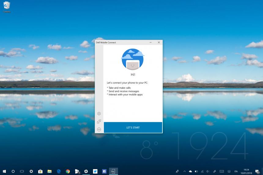 Come installare l'app esclusiva Dell Mobile Connect su