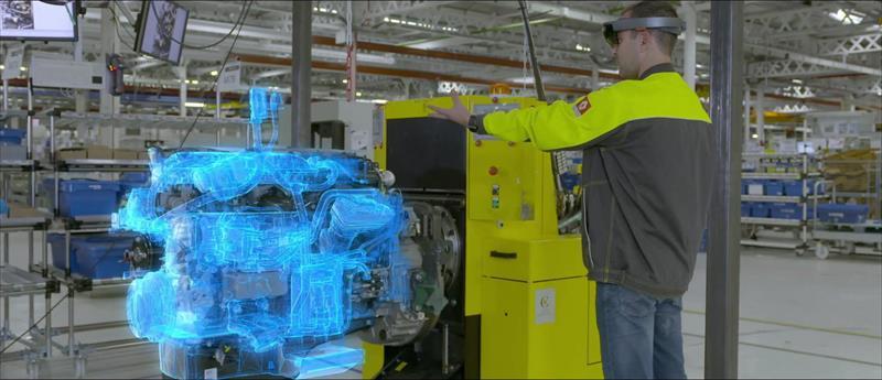 Renault Trucks esegue il controllo di qualità con gli HoloLens