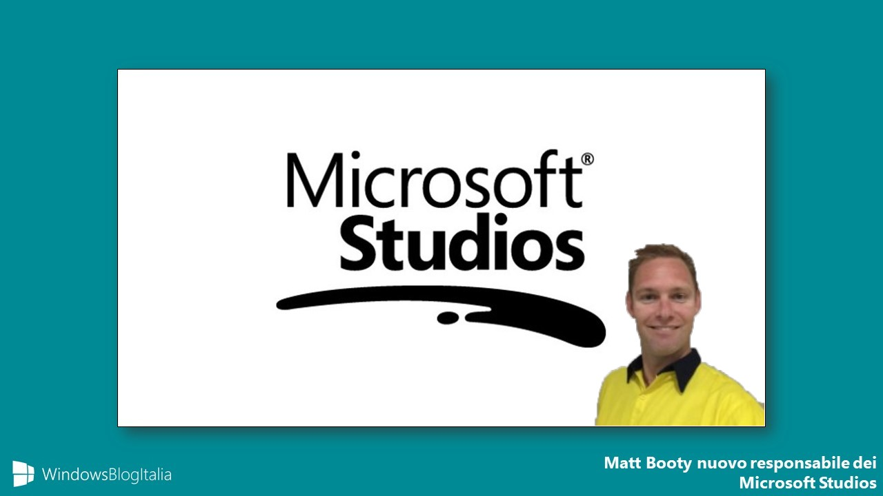 Matt Booty responsabile giochi Microsoft Studios Xbox