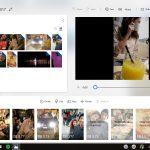 Microsoft Foto miglioramenti interfaccia utente UI video editor