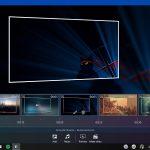 Movie Maker Free app Windows 10 timeline foto selezionata