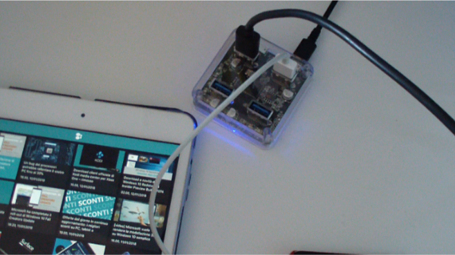 base di ricarica ORICO Hub USB