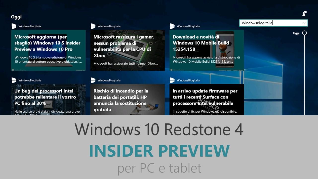 windows 10 redstone 4 rtm download