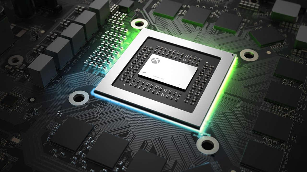 Xbox One X chipset CPU