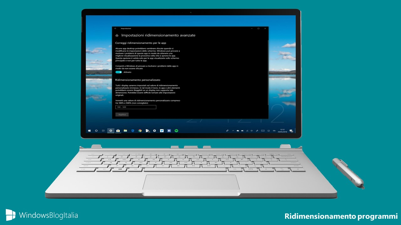 Come Eliminare Leffetto Sfocato Dei Programmi In Windows 10