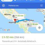 Google Maps PWA Windows 10 Mobile interfaccia