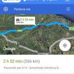 Google Maps PWA Windows 10 Mobile interfaccia vista satellite