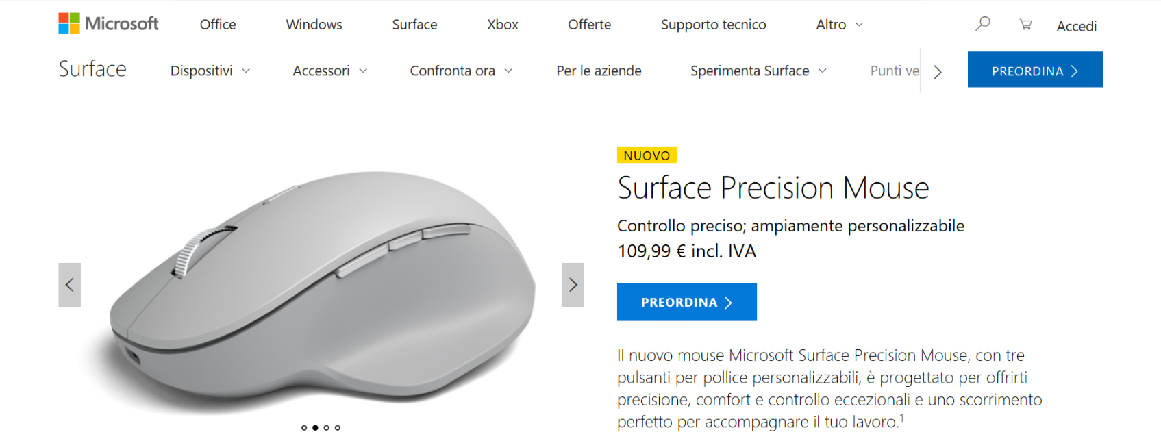 surface precision mouse store