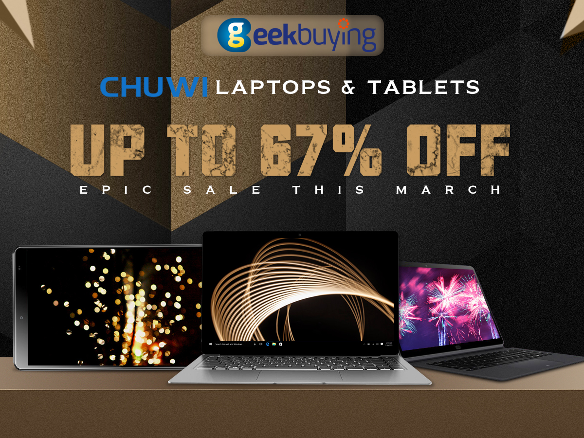 Chuwi Epic Sale Geekbuying