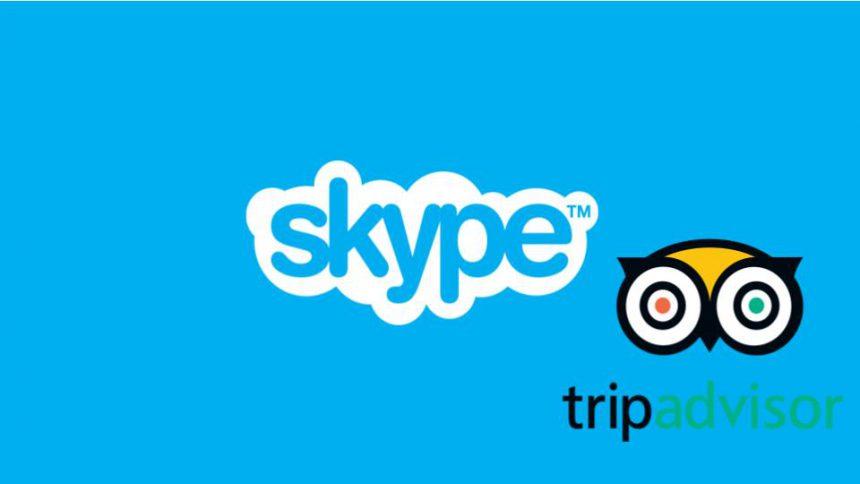 Skype TripAdvisor