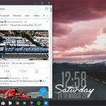 Twitter PWA Windows 10 ridimensionamento finestra