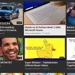 YouTube Xbox One nuova interfaccia iscrizioni