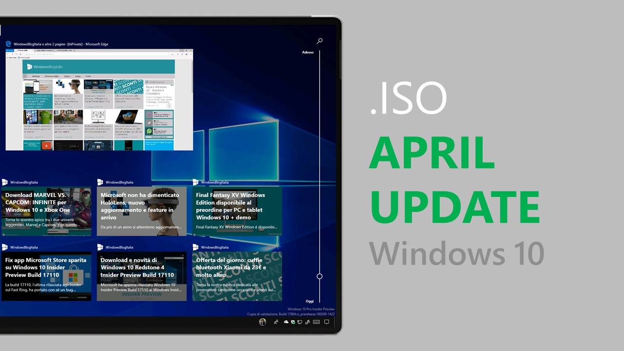 ISO Windows 10 April Update