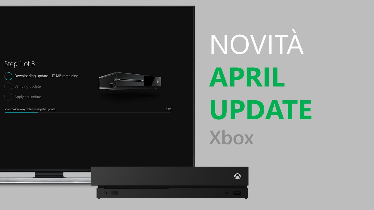 Xbox One Windows 10 April Update