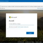 Login microsoft account