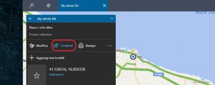 Mappe Windows condivisione raccolta