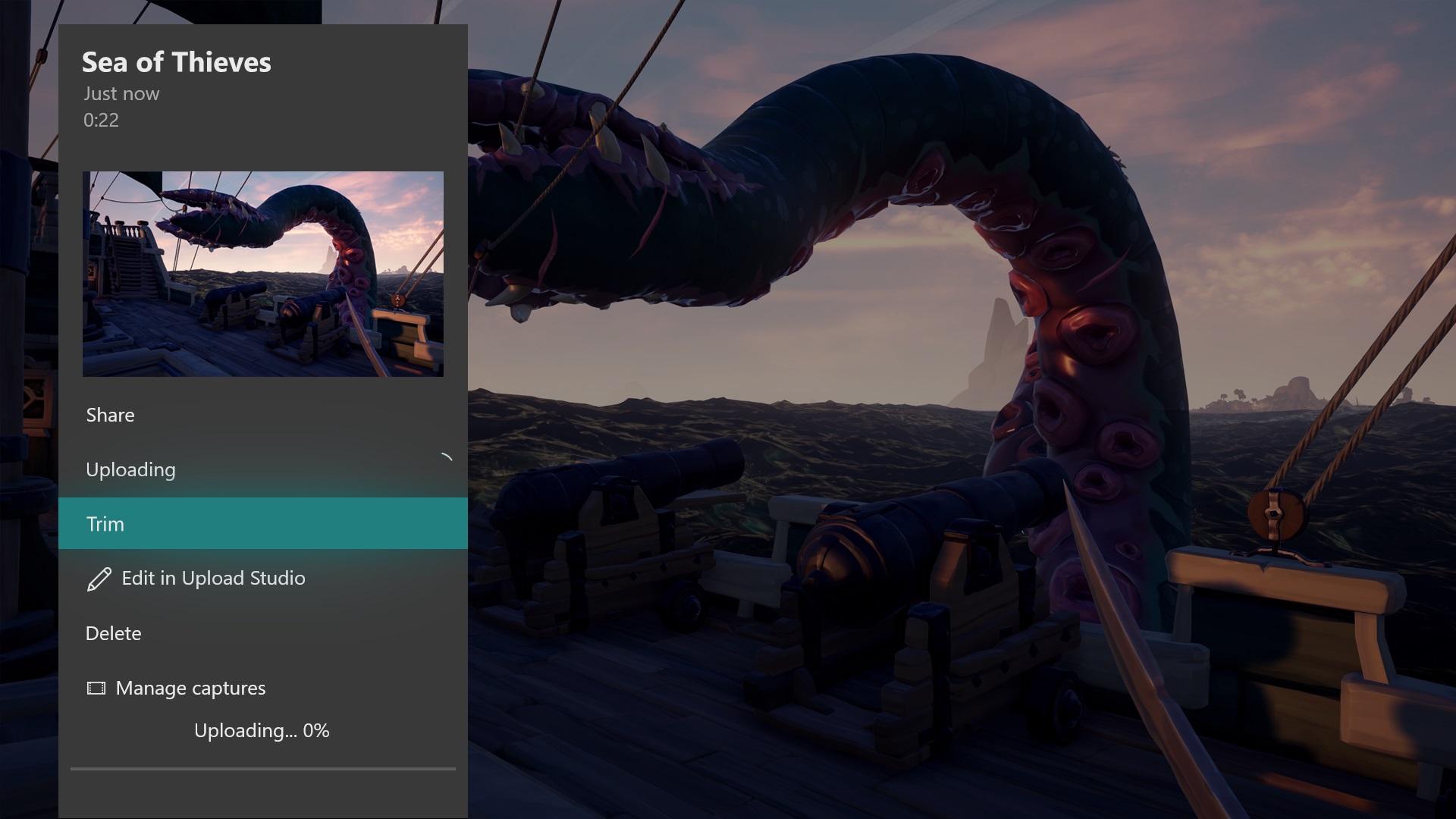 Ritaglio clip Xbox One aggiornamento maggio